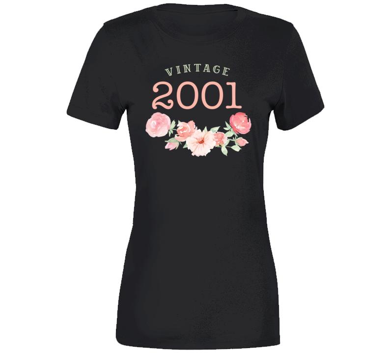 Vintage Human 2001 Edition Ladies T Shirt