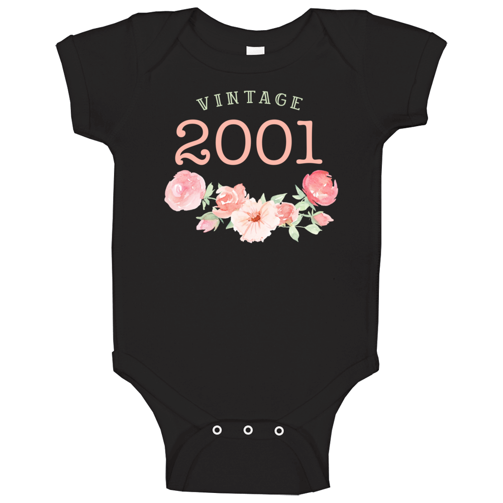 Vintage Human 2001 Edition Baby One Piece