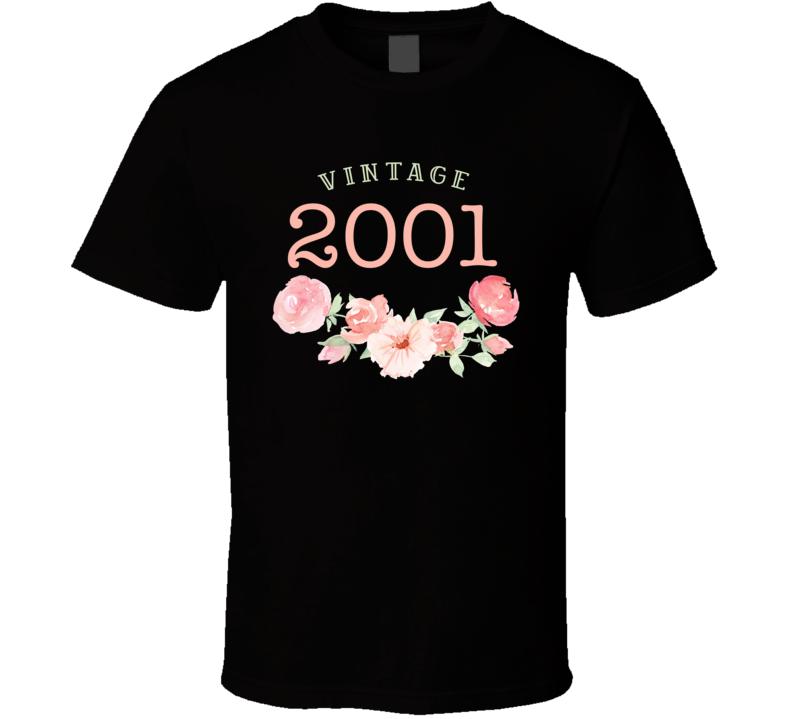 Vintage Human 2001 Edition T Shirt