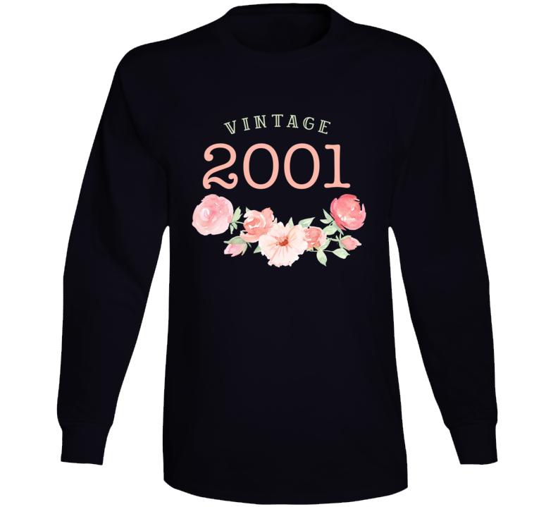 Vintage Human 2001 Edition Long Sleeve T Shirt