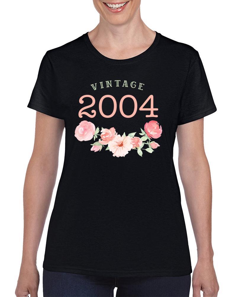 Vintage Human 2004 Edition Ladies T Shirt
