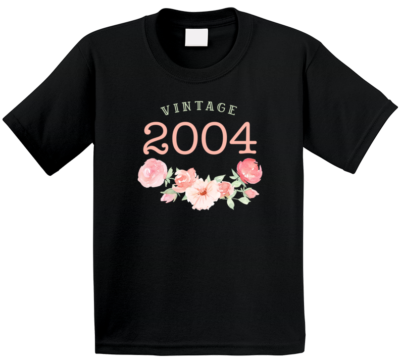 Vintage Human 2004 Edition T Shirt