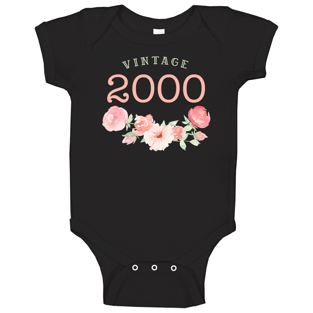 Vintage Human 2000 Edition Baby One Piece