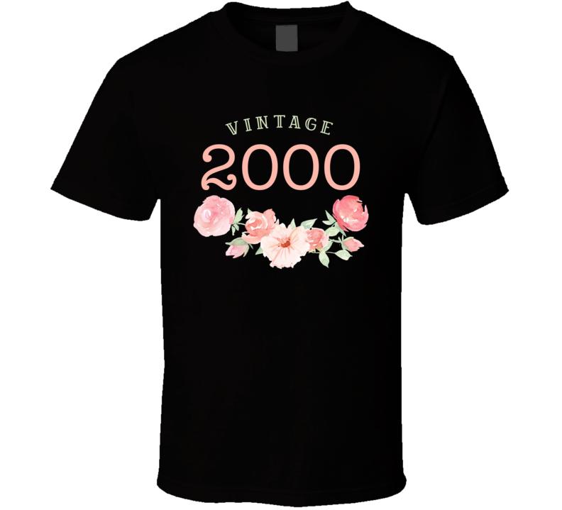 Vintage Human 2000 Edition T Shirt