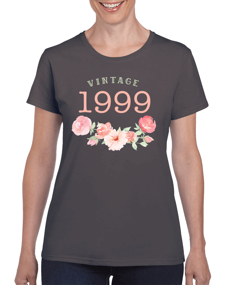 Vintage Human 1999 Edition Ladies T Shirt