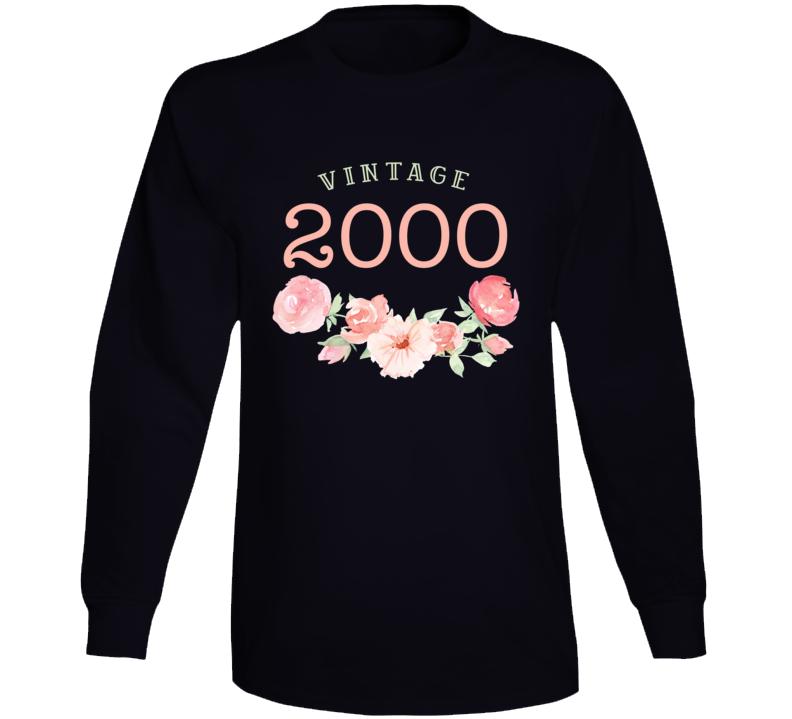 Vintage Human 2000 Edition Long Sleeve T Shirt