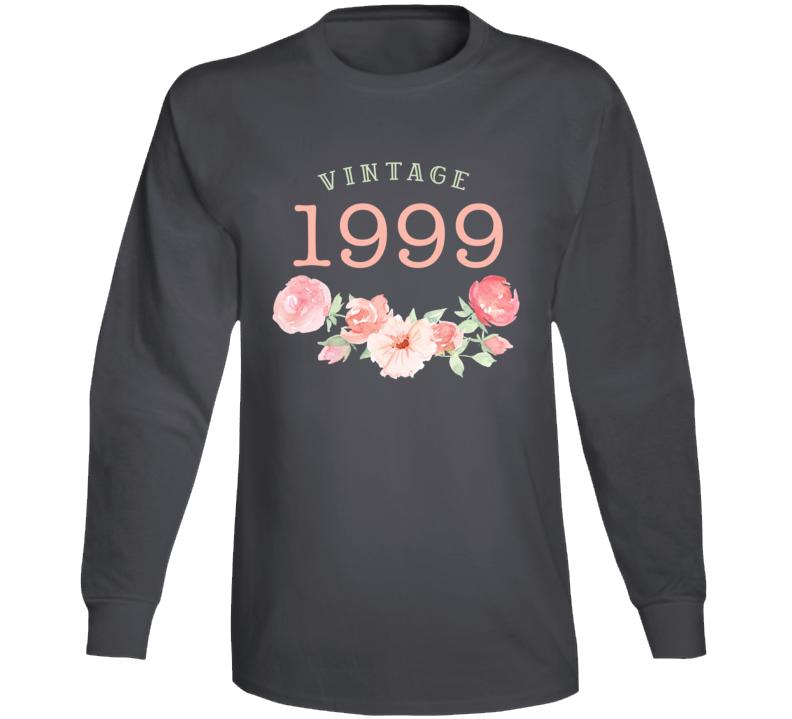 Vintage Human 1999 Edition Long Sleeve T Shirt