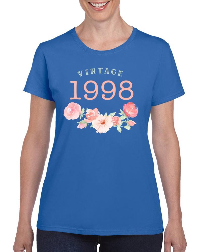 Vintage Human 1998 Edition Ladies T Shirt