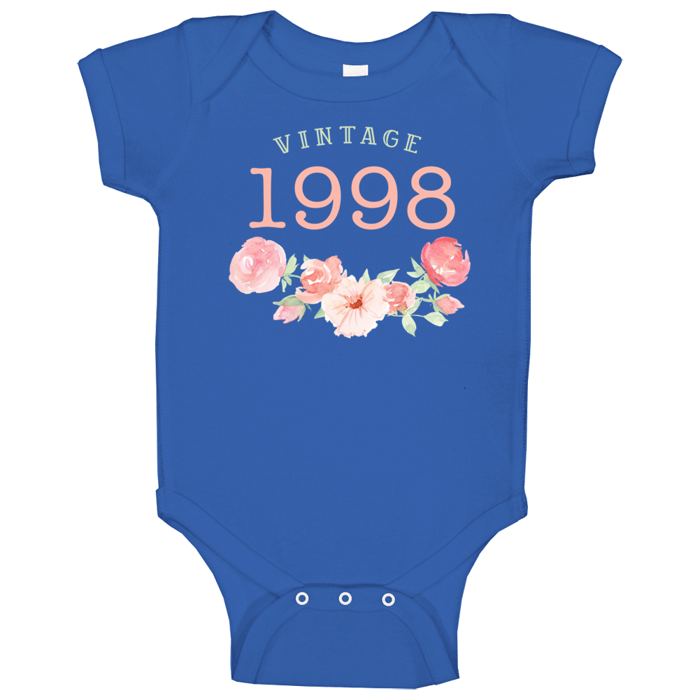 Vintage Human 1998 Edition Baby One Piece