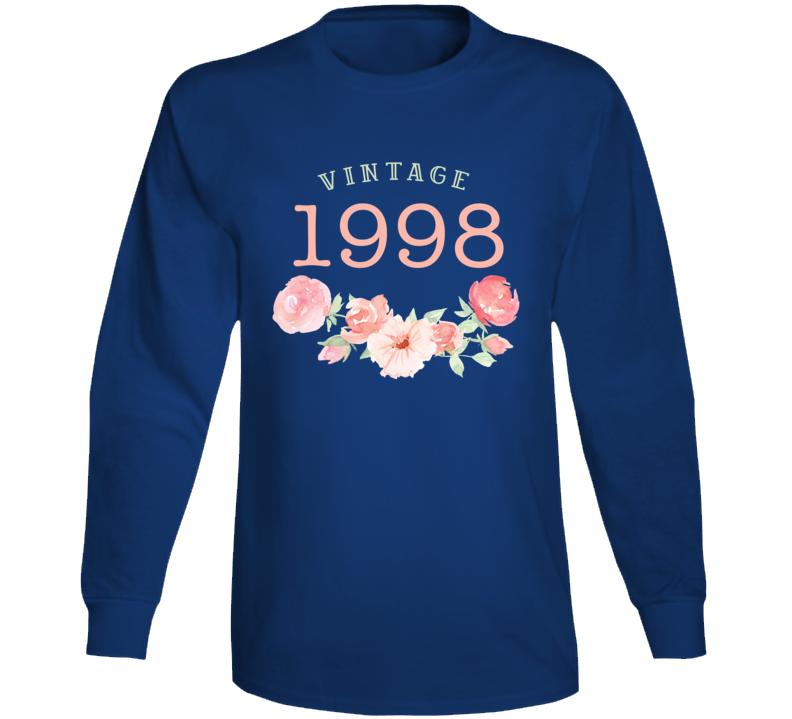 Vintage Human 1998 Edition Long Sleeve T Shirt