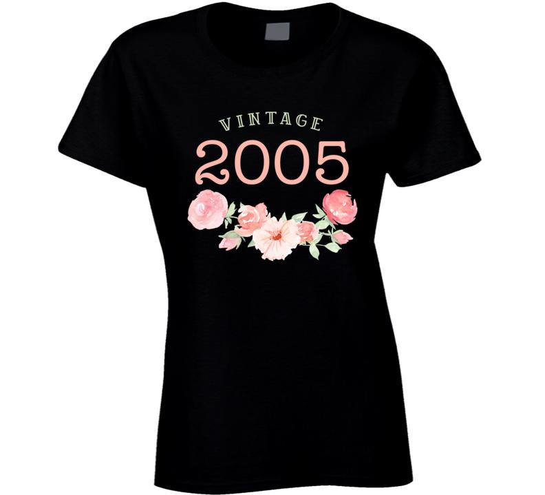 Vintage Human 2005 Edition Ladies T Shirt