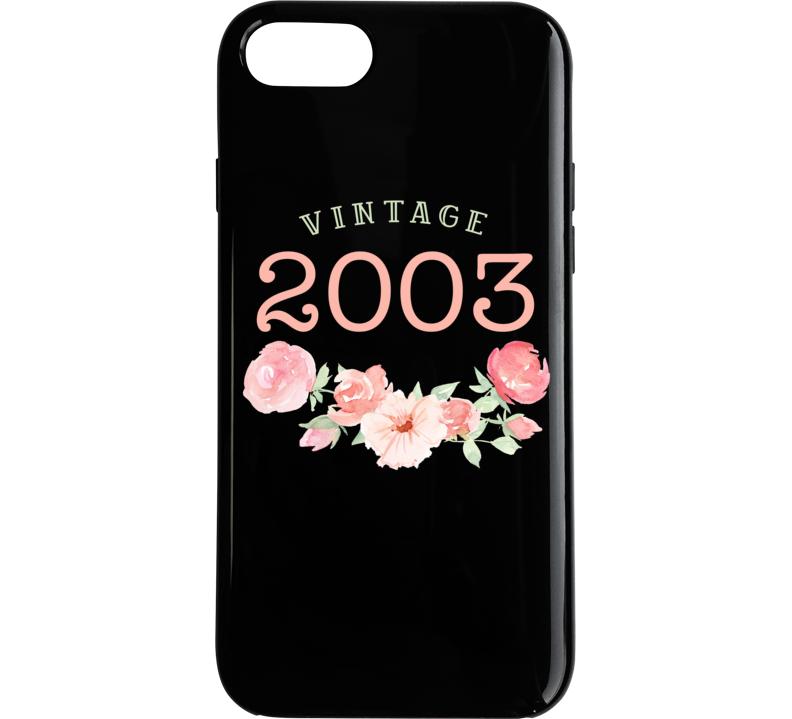 Vintage  Human 2003 Edition Iphone Case Phone Case