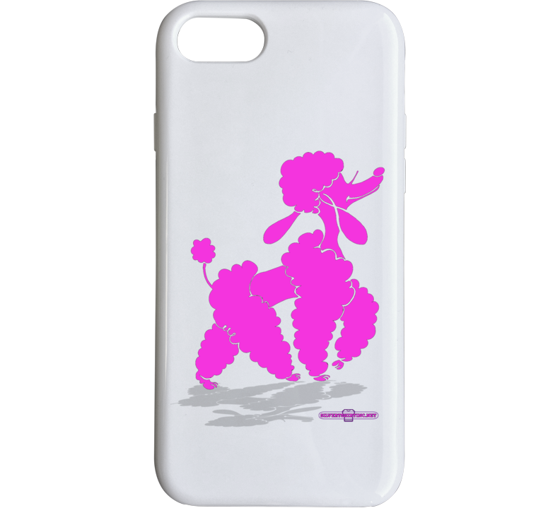 Glam Poodle Slay Day Phone Case