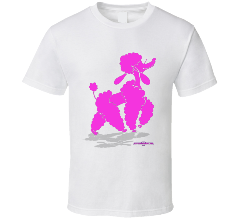 Glam Poodle Slay Day T Shirt