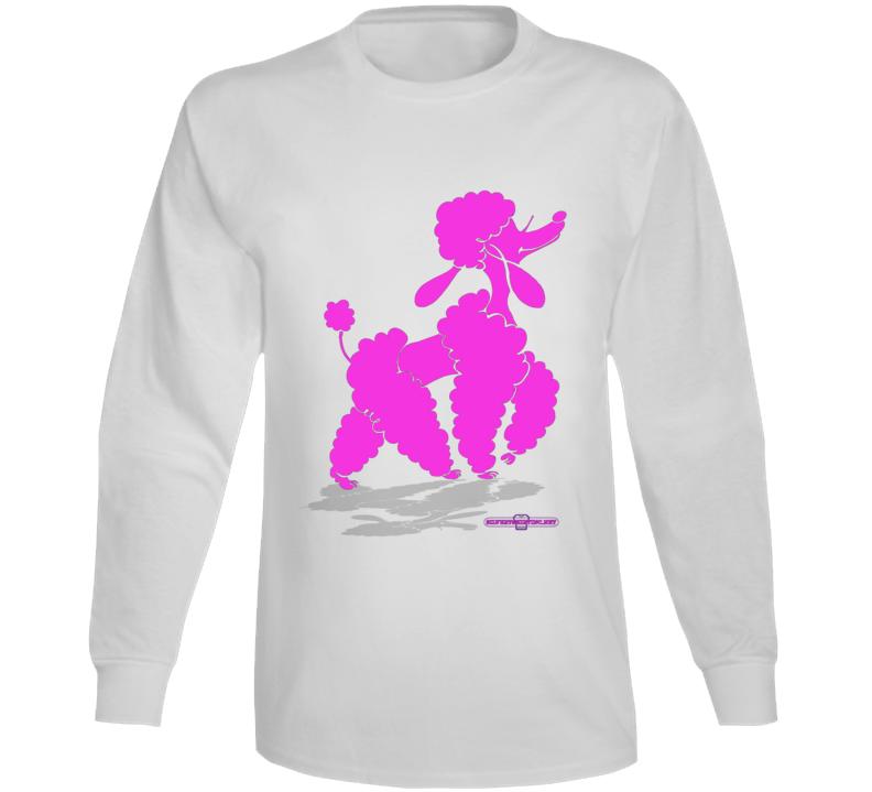 Glam Poodle Slay Day Long Sleeve T Shirt