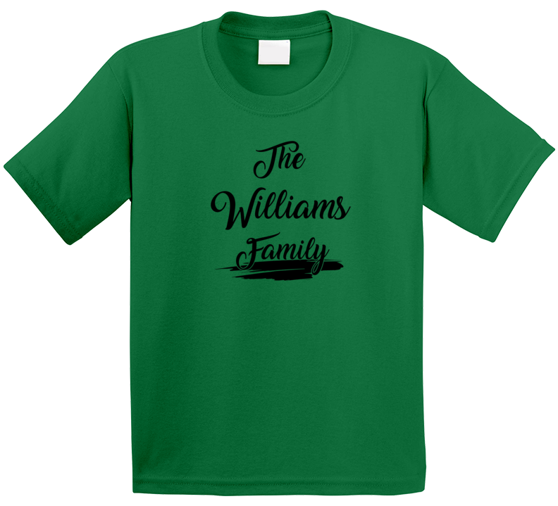 The Williams Family T Shirt