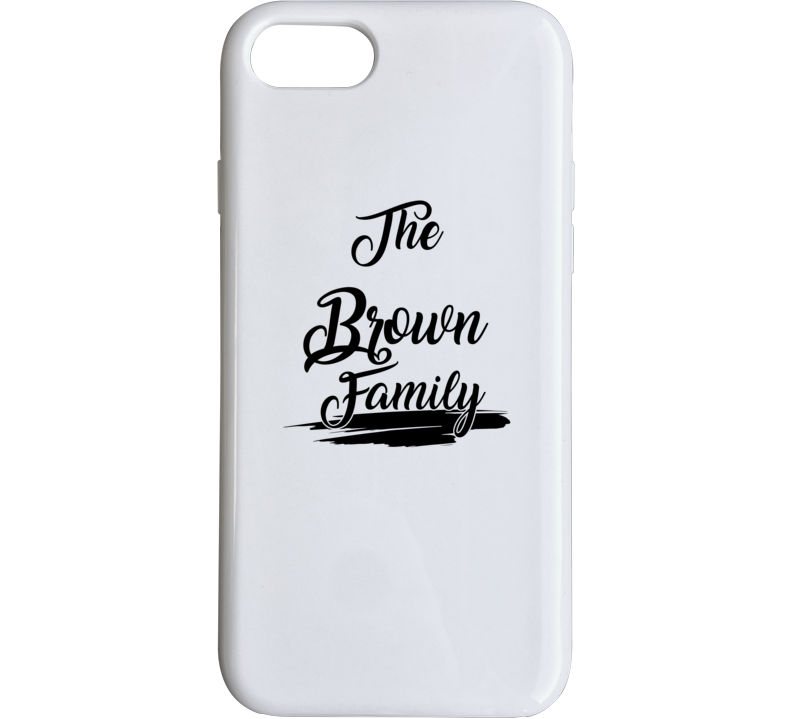 The Brown Family Phone Case