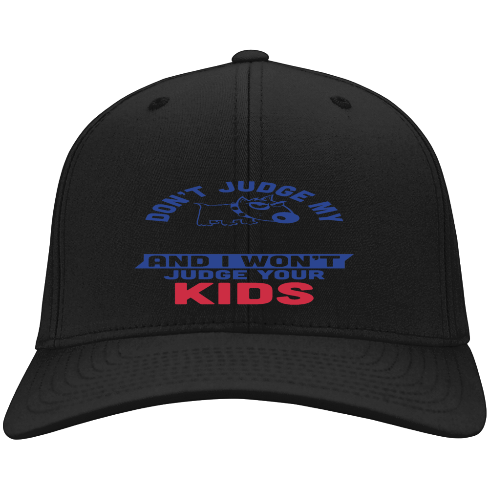 Don't Judge My Dog And I Won't Judge Your Kids Hat
