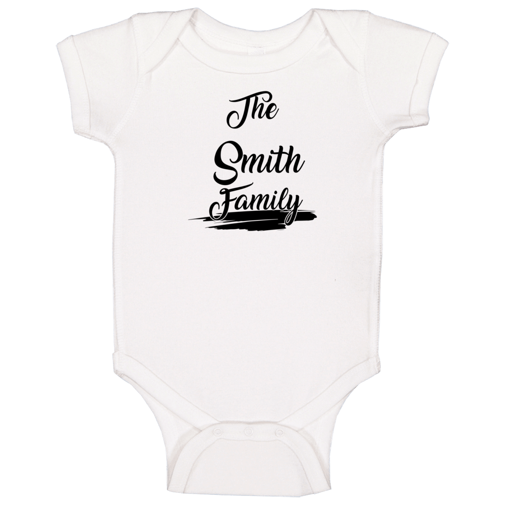 The Smith Family Baby One Piece