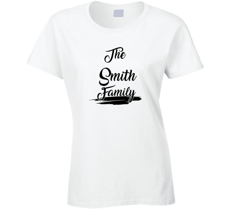 The Smith Family Ladies T Shirt