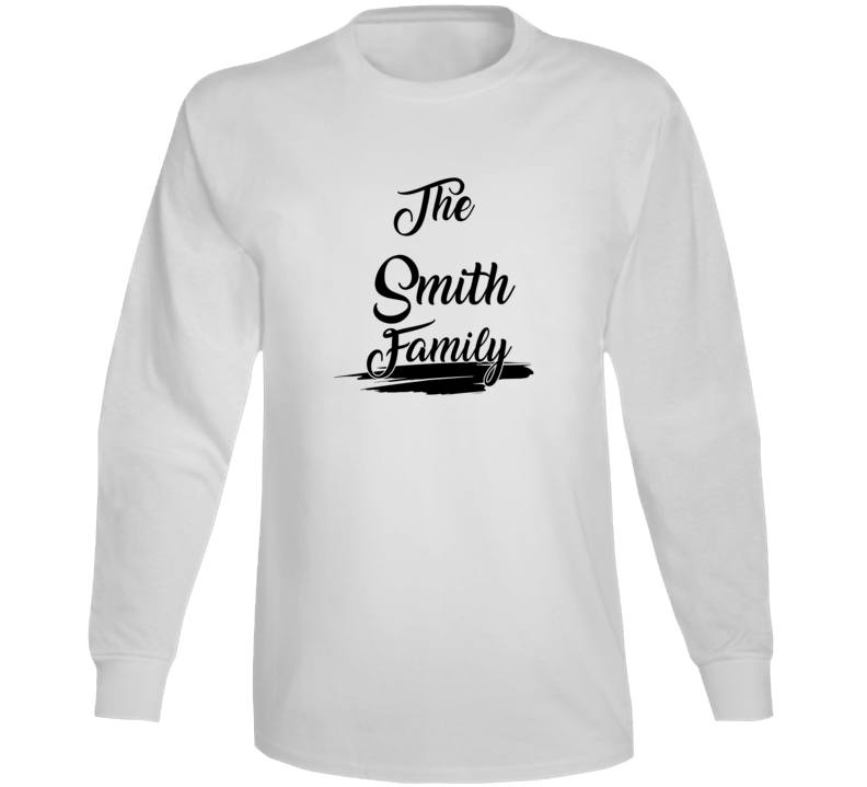 The Smith Family Long Sleeve T Shirt