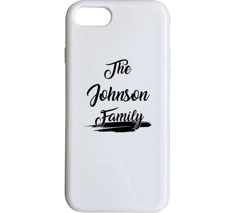 The Johnson Family Phone Case