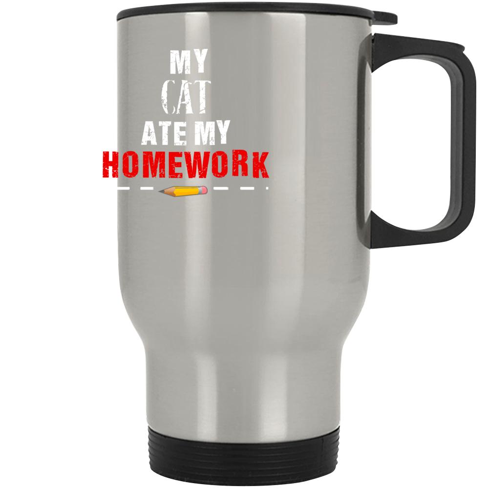 My Cat Ate My Homework Mug