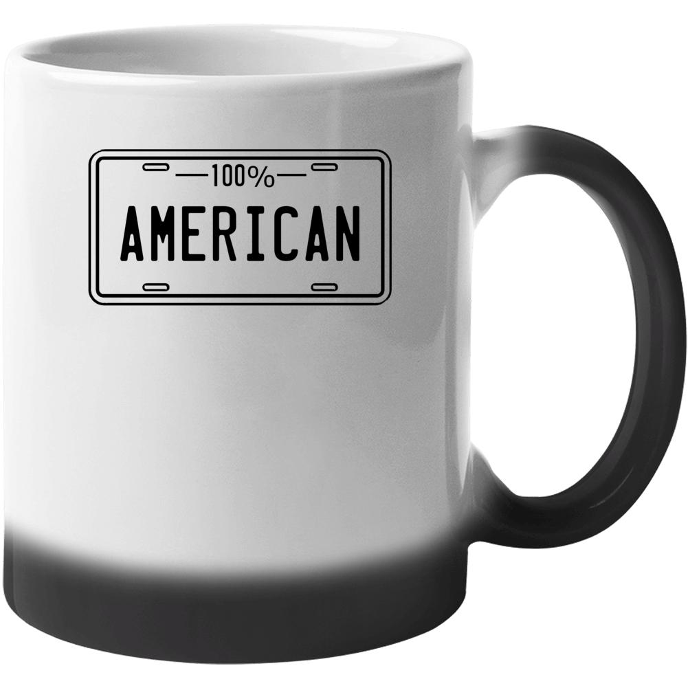 One Hundred Percent American Mug