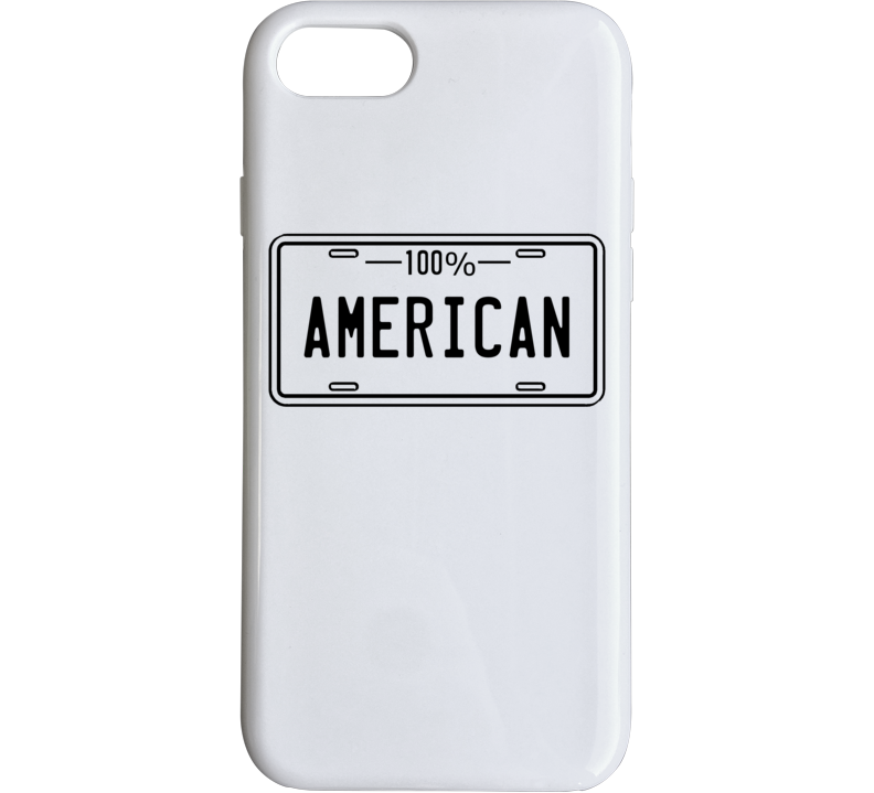 One Hundred Percent American Phone Case
