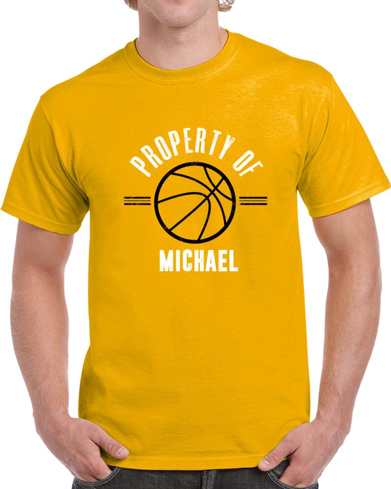 This Basketball Belongs To  Michael T Shirt