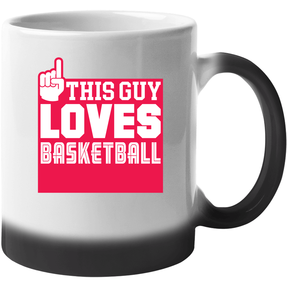 This Guy Loves Basketball Mug