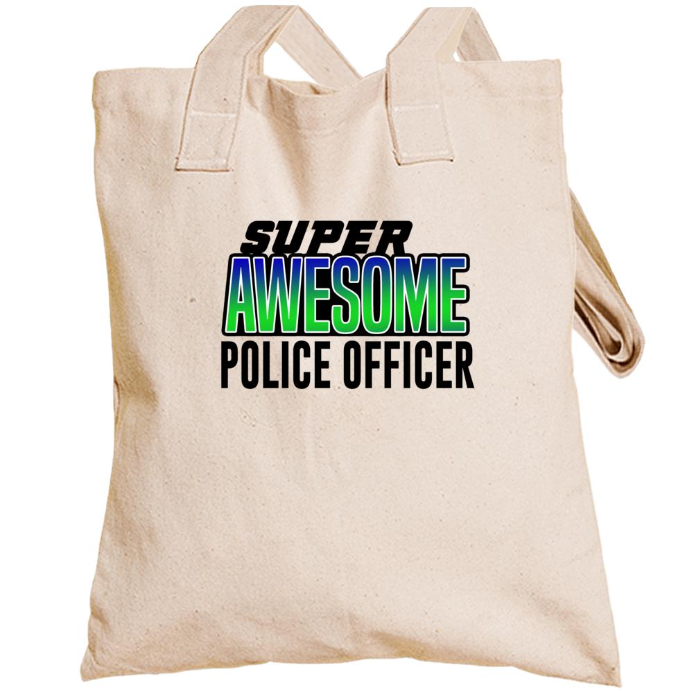 Super Awesome Police Officer Totebag