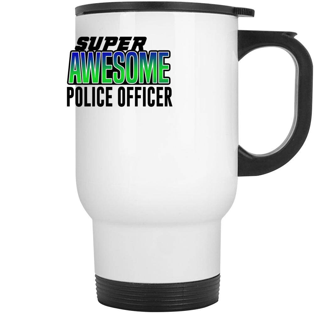 Super Awesome Police Officer Mug