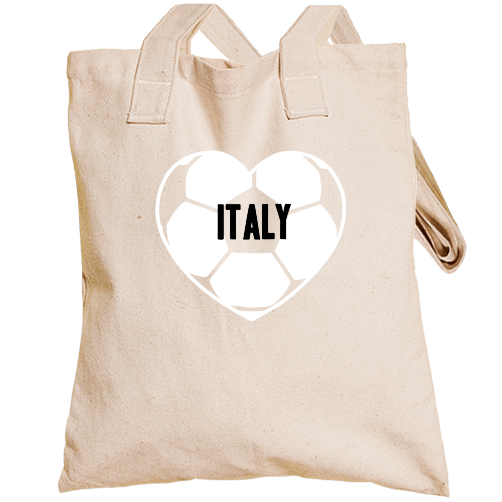 I Love Italy National Soccer Team Totebag