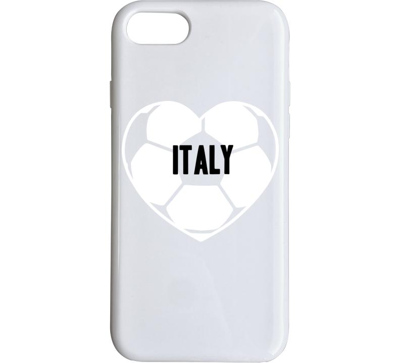 I Love Italy National Soccer Team Phone Case