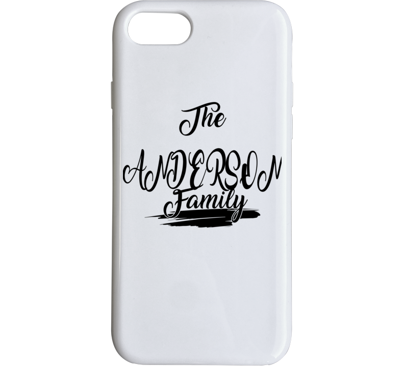 The Anderson Family Phone Case