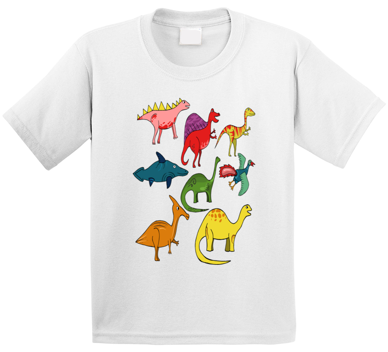 Name These Dinosaurs T Shirt