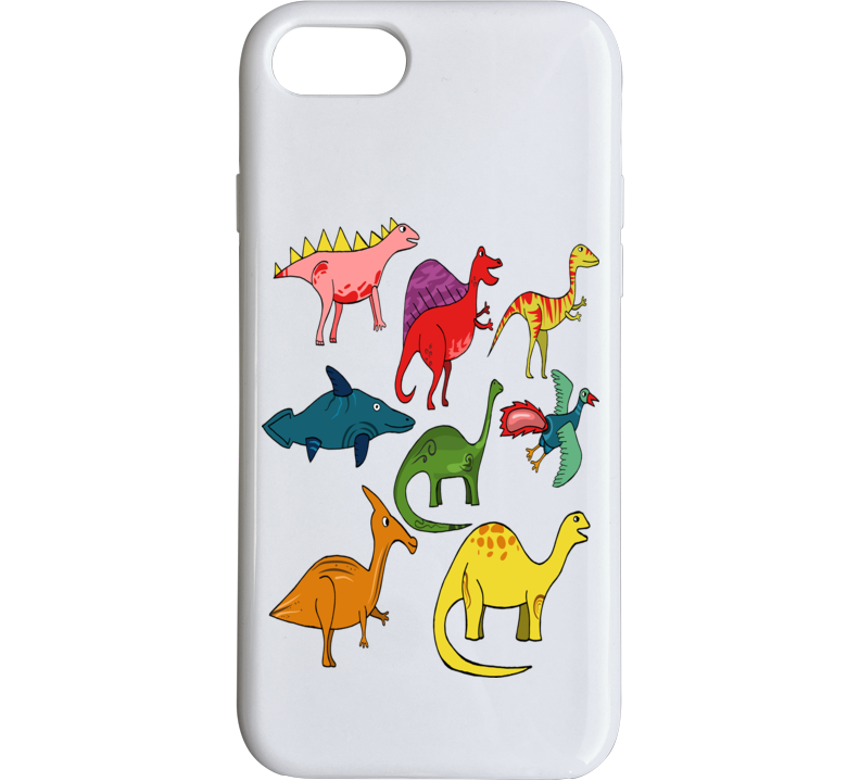 Name These Dinosaurs Phone Case