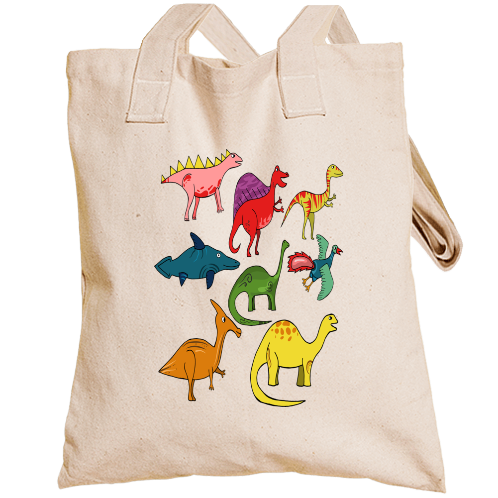 Name These Dinosaurs Totebag
