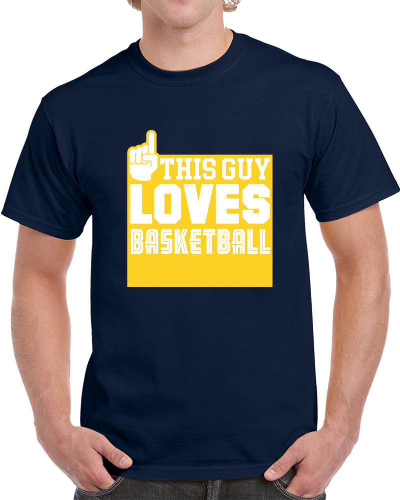 This Guy Loves Basketball T Shirt