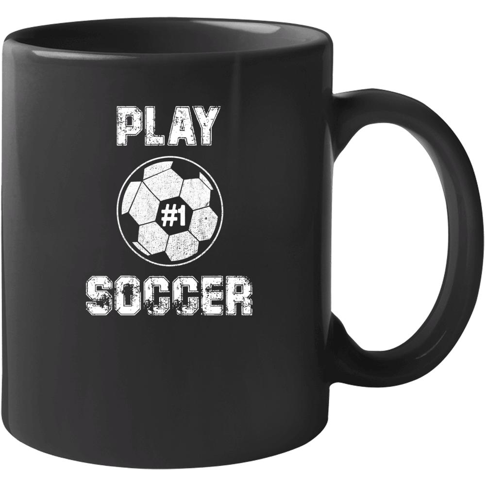 Play Soccer #1 Mug