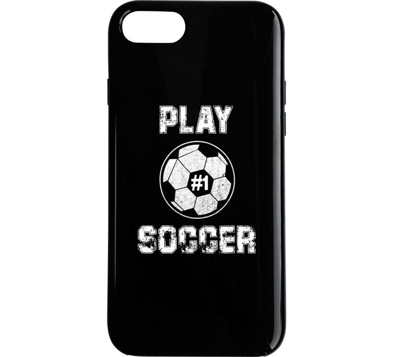 Play Soccer #1 Phone Case