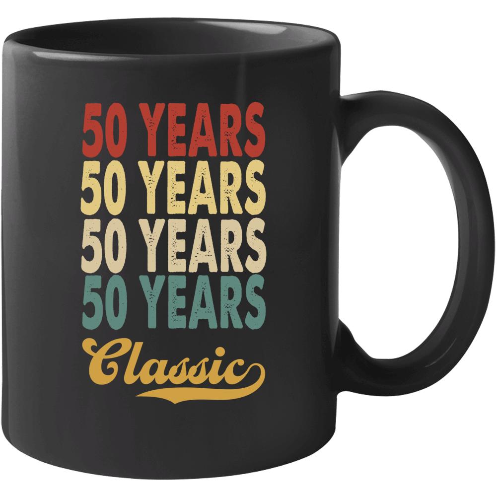 50 Years Birthday Mug