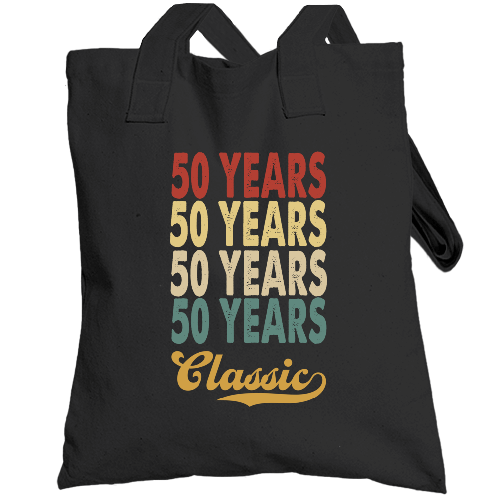50 Years Birthday  Totebag