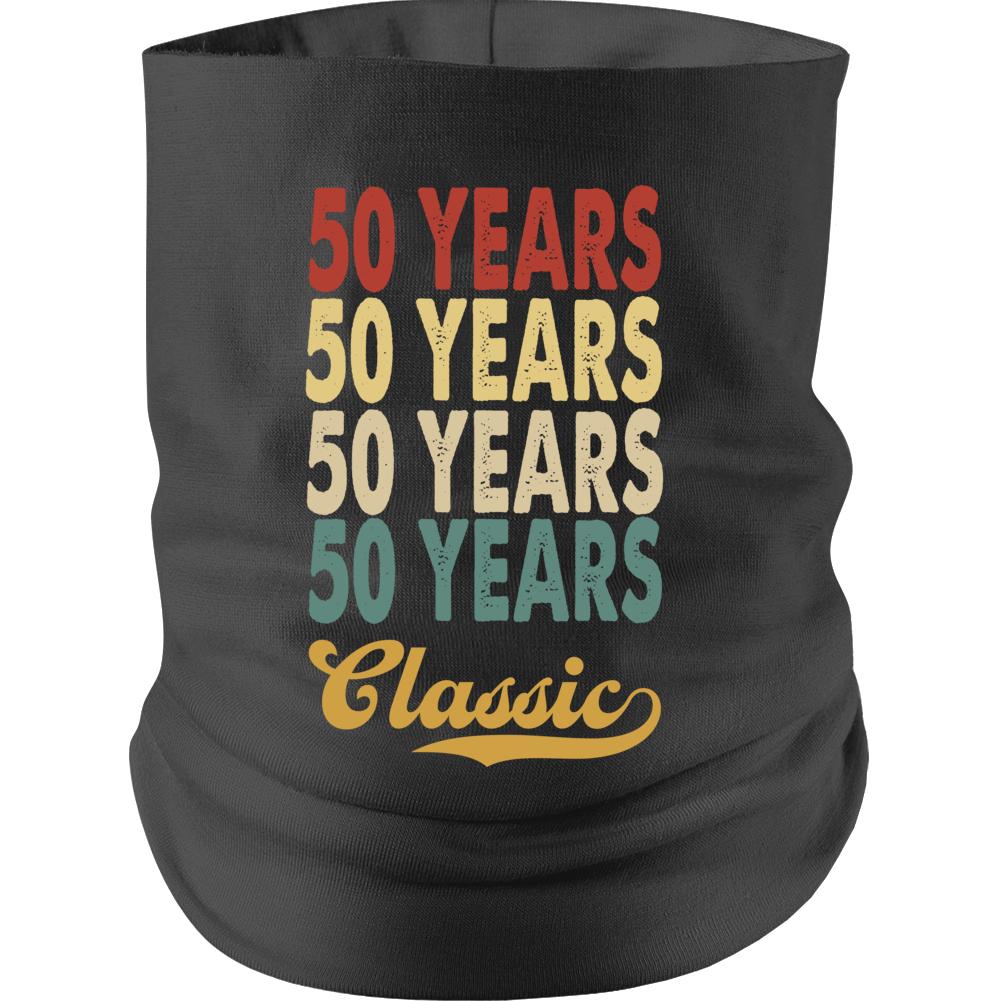5o Years Birthday Neck gaiter