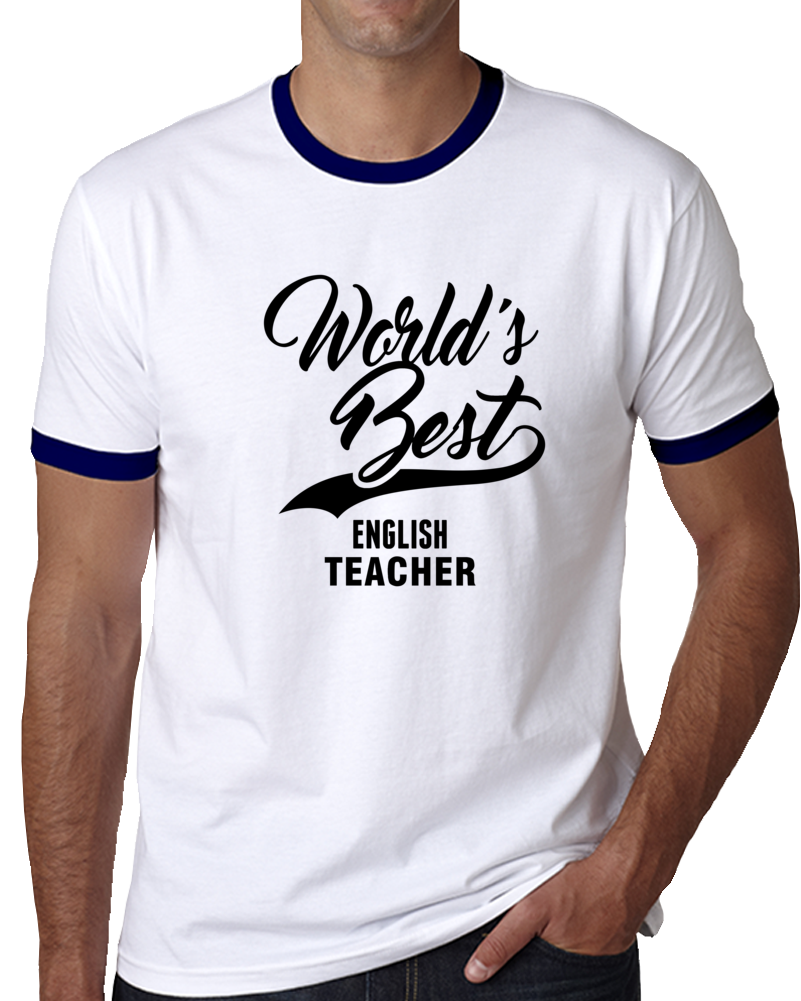 World's Best English Teacher Happy World Teachers' Day T Shirt