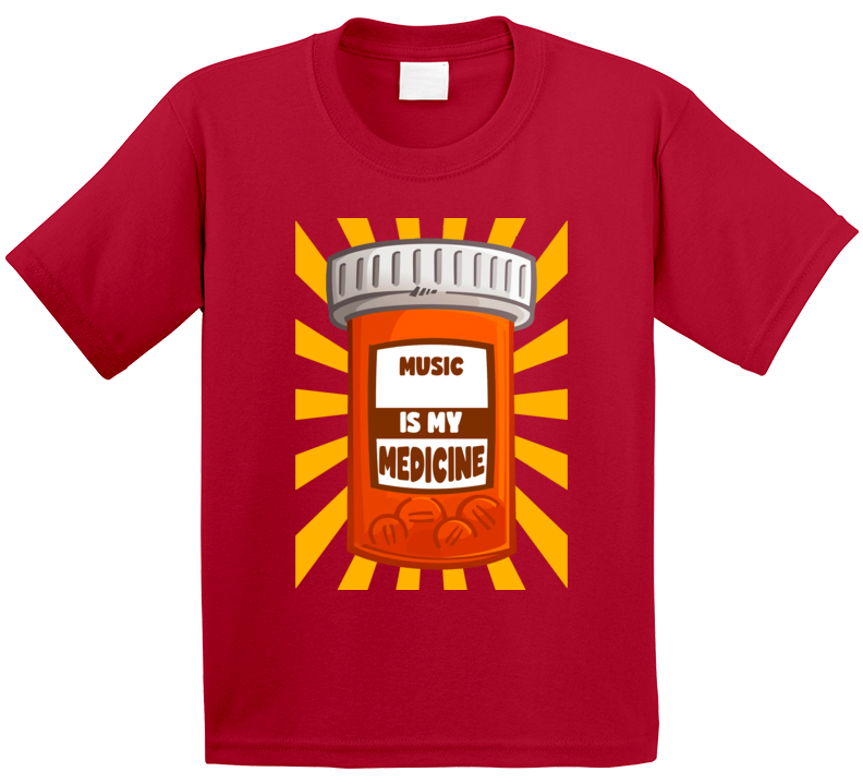Music Is My Medicine T Shirt