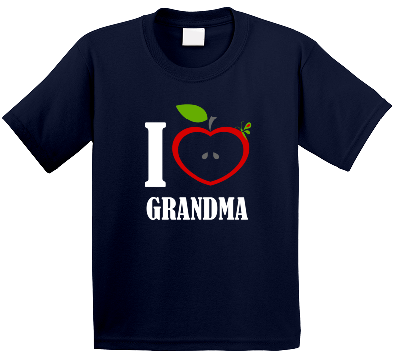 I Love Grandma T Shirt