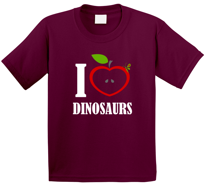 I Love Dinosaurs T Shirt