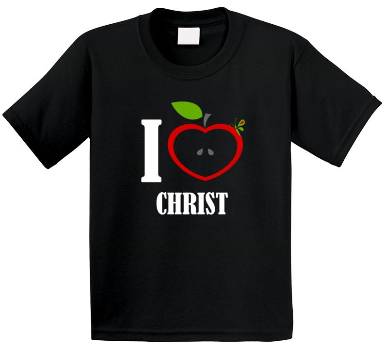I Love Christ T Shirt